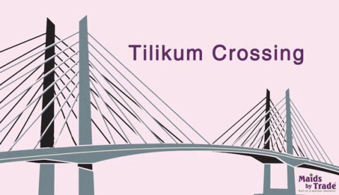 Tilikum Crossing, a Petal for the Rose City