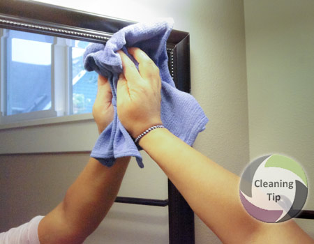 how to clean mirrors maids by trade