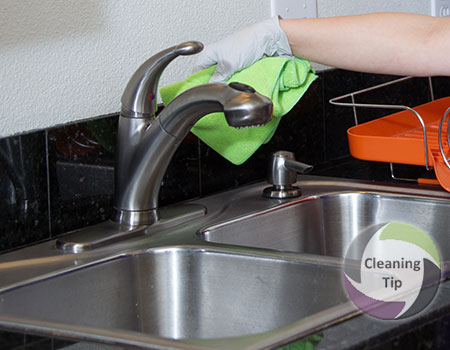 How to Clean a Faucet | Maids by Trade