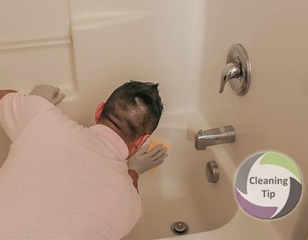 How To Clean A Bathtub. Clean Bathtub