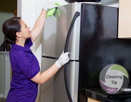 How to Clean a Refrigerator. clean refrigerator.