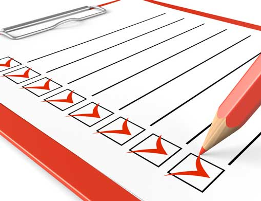residential cleaning service checklist