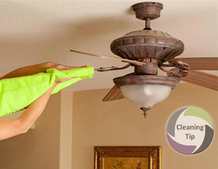 How to clean ceiling fans maids by trade how to clean ceiling fans aloadofball Gallery