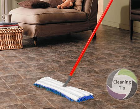 How To Clean Vinyl Floors Maids By Trade