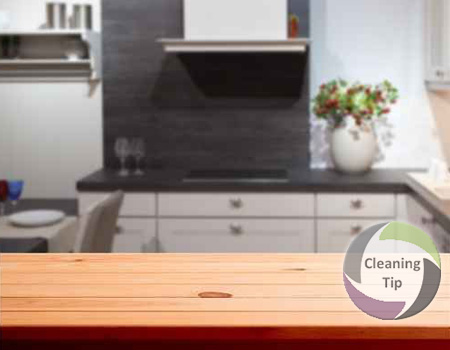 how to clean wood countertops | maidstrade
