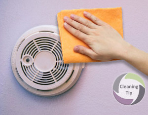 How to Clean a Smoke Detector