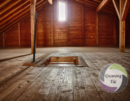 How To Clean An Attic Maids By Trade