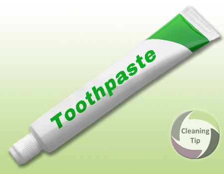 How to Clean with Toothpaste