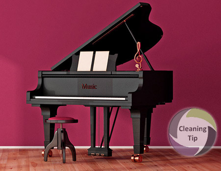 4 Quick Tips to a Clean Piano