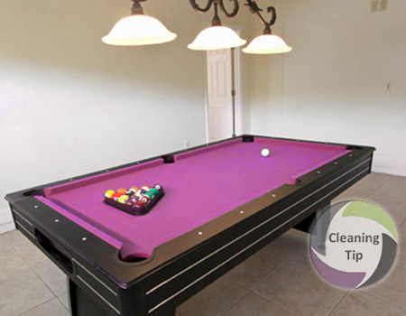 Quick Steps To Keep A Clean Pool Table Maids By Trade