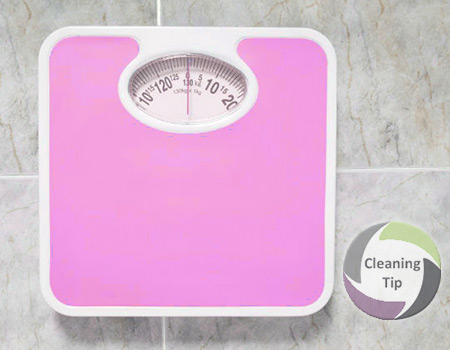 clean scale
