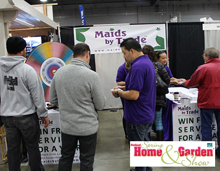 Portland spring home and garden show maids by trade for Portland spring home and garden show