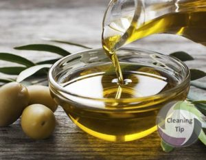 How to Clean with Olive Oil