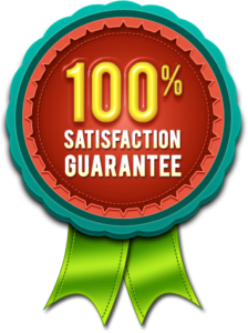 Maids by Trade Satisfaction Guarantee badge
