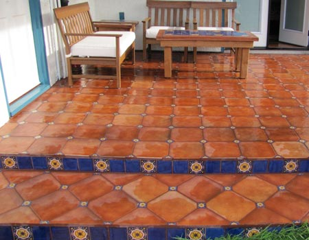 How to Clean Saltillo Tile Floors