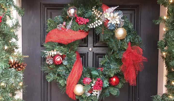 how to clean decorative wreaths with a blow dryer - Decorative Wreaths