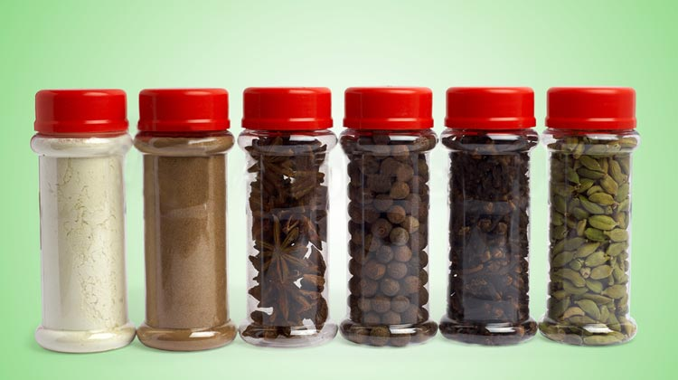 empty the jars before cleaning inside - Spice Jars