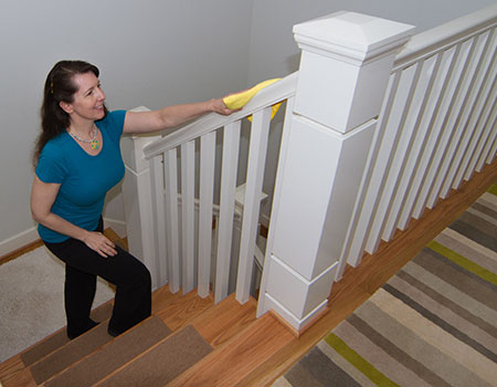 Beautiful How To Clean Staircase Railings