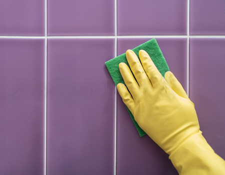 How to clean and whiten grout maids by trade for How to make grout white again