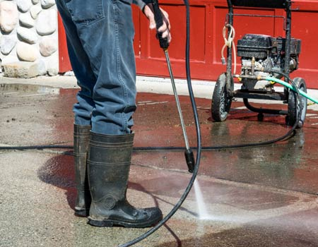 Keeping Driveways Clean and focus on stains