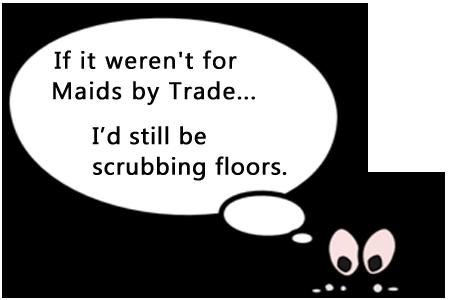 Scrubbing Floors? Good Thing We're Not in a Macho Era