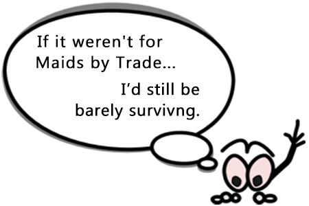 barely surviving - cleaning quotes - savvy humor